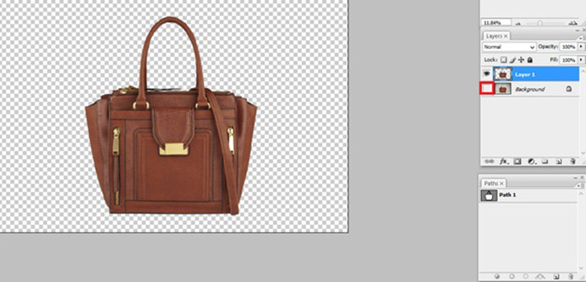 removed image background by clipping path process