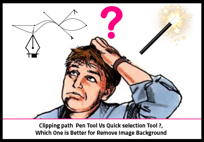 clipping path vs quick selection