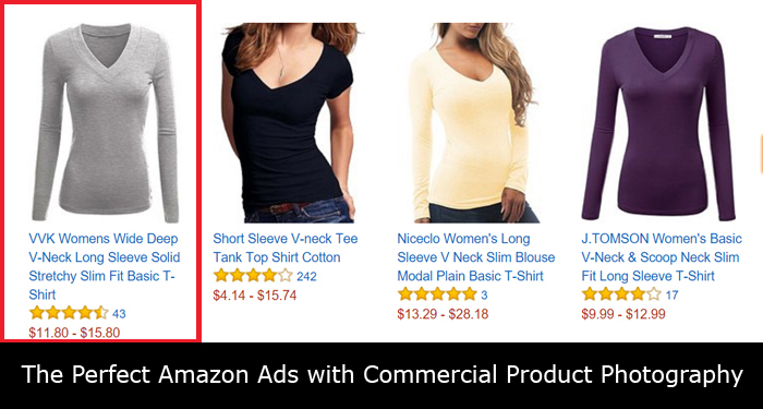 The Perfect Amazon Ads with Commercial Product Photography