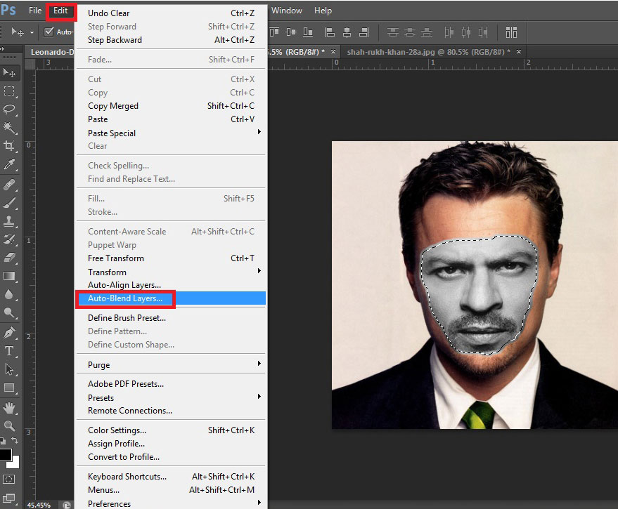 How to swap faces in Photoshop CS6 Easily