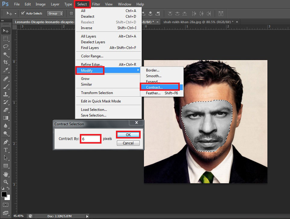 how to make face clean in photoshop cs6