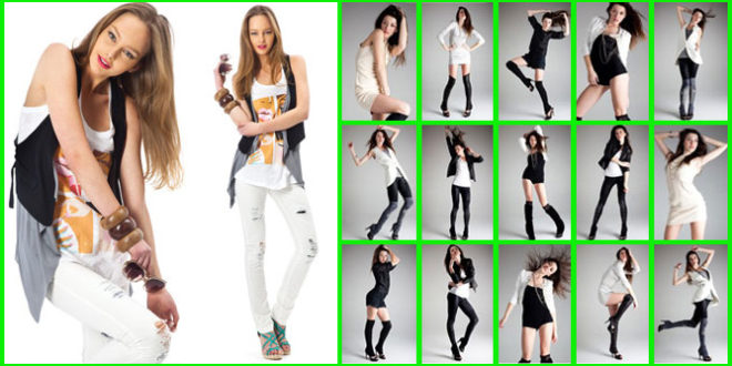 most popular model poses required during the photo shoot