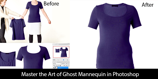 Master the Art of Ghost Mannequin in Photoshop