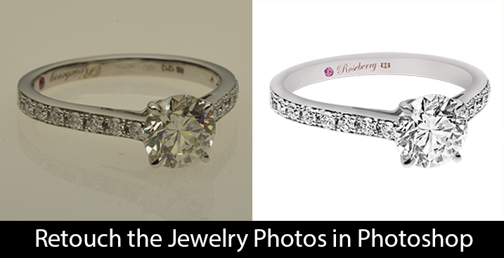 retouch the jewelry photos in photoshop photography tips