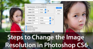 Steps to Change the Image Resolution in Photoshop