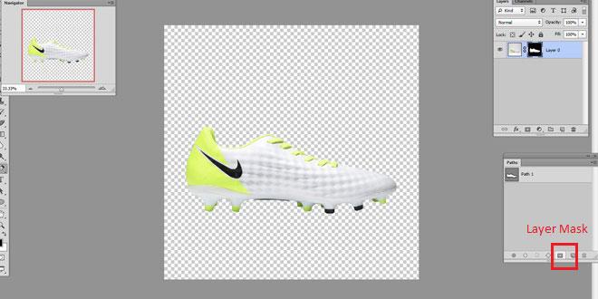 Adjustment layer in Photoshop