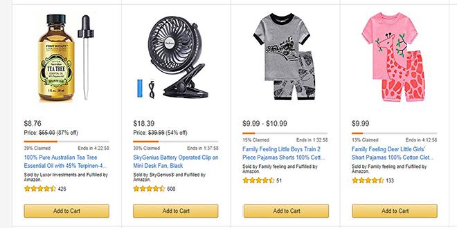 Amazon runs black Friday deals