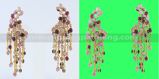 Jewelry clipping path Service