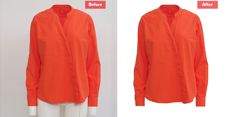 Garment Clipping Path