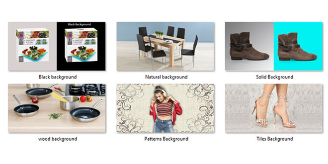 Alternative Background Options to White Backdrop