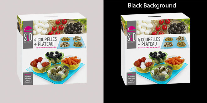 Product Black Background