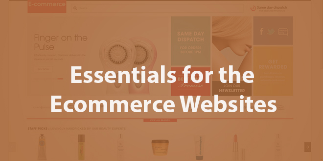 Essentials for the Ecommerce Websites