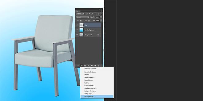 Create Drop shadow