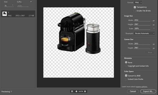 Make image background transparent