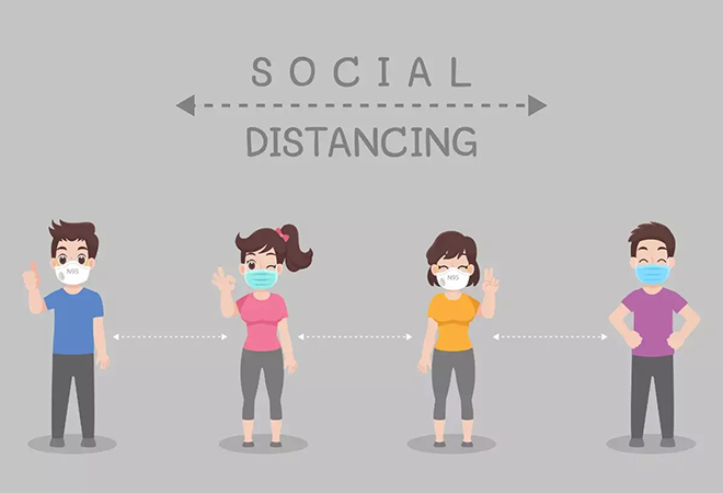 Show Social Distancing In Your Images