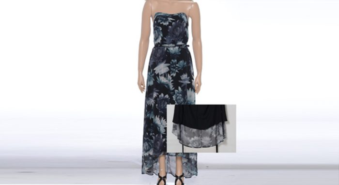 Dress clipping path