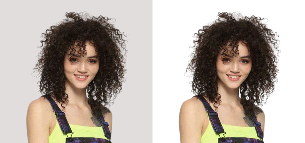 Model Hair Image Masking